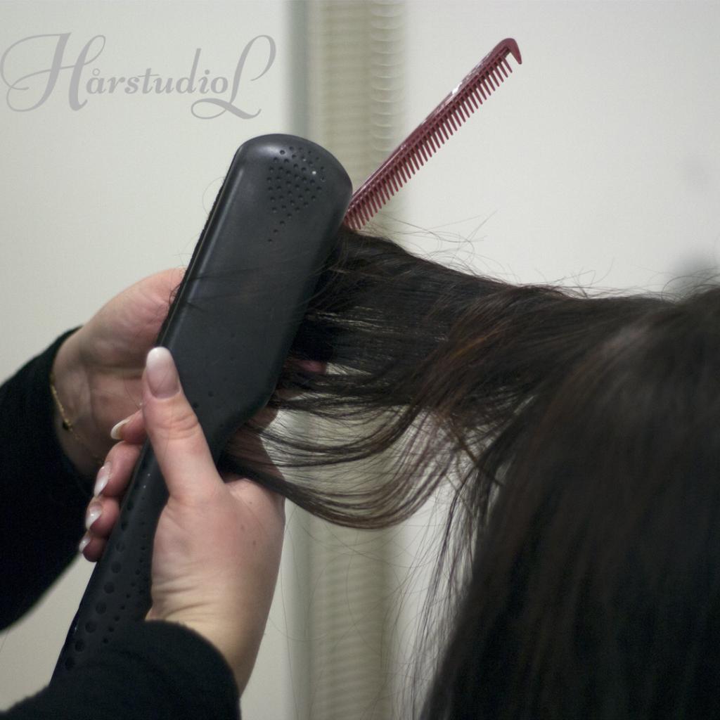 Plattång hår